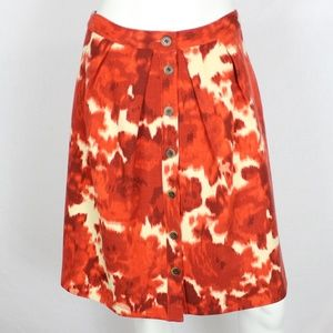 NWT J.Crew Flair Skirt Floating Rose A-Line Wool